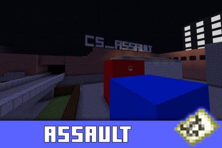Карта Assault для Майнкрафт ПЕ