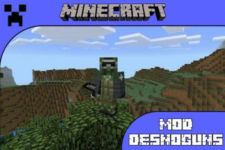 Мод DesnoGuns для Minecraft PE