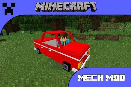 Мод Mech Mod для Minecraft PE