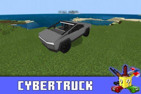 Кибертрак в моде на Тесла в Minecraft PE