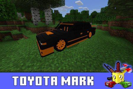 Toyota Mark в моде на внедорожник в Майнкрафт ПЕ