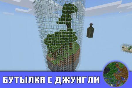 Бутылка с джунгли в Minecraft PE